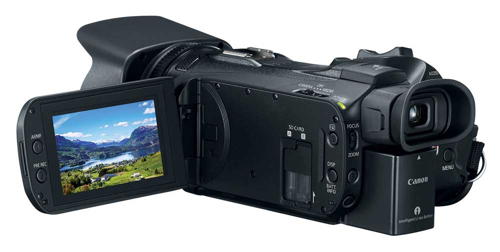 Canon Introduces The New Vixia G50 4k Camcorder With 20x