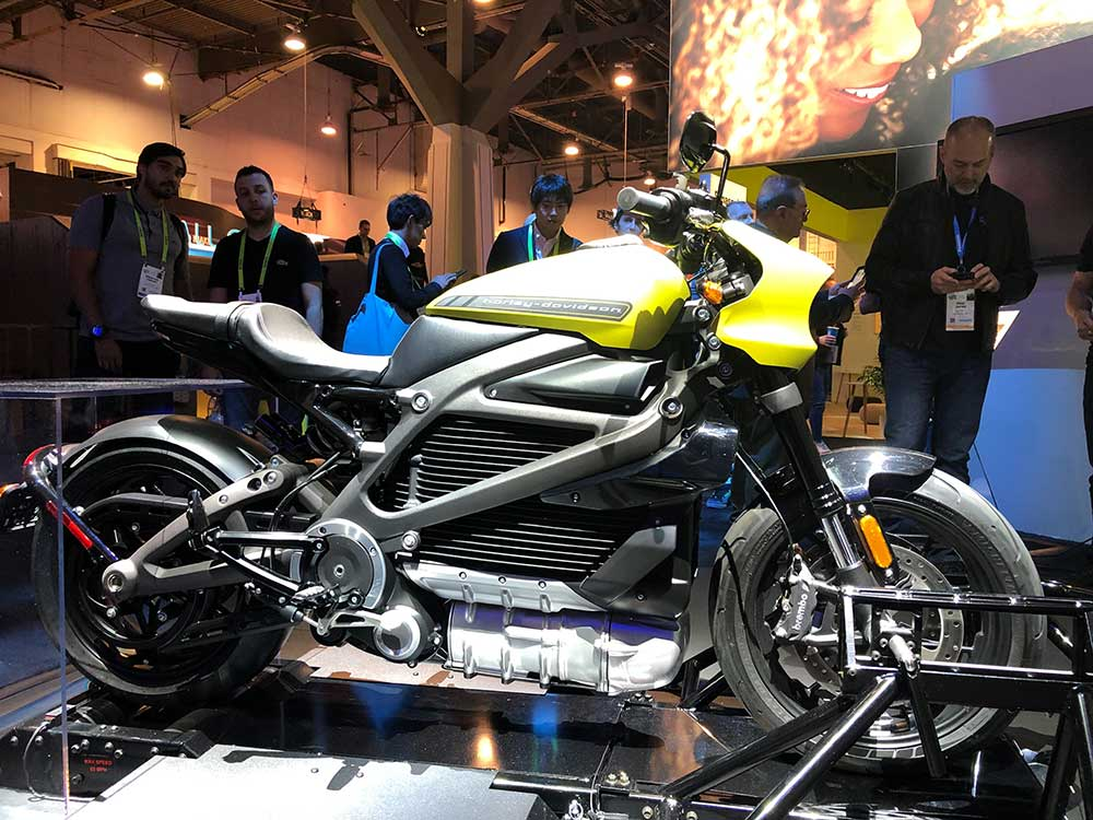 Harley-Davidson LiveWire Электрический Мотоцикл