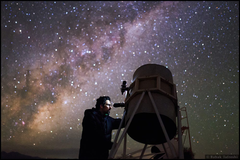observing with a telescope in a handicap - 1110×744