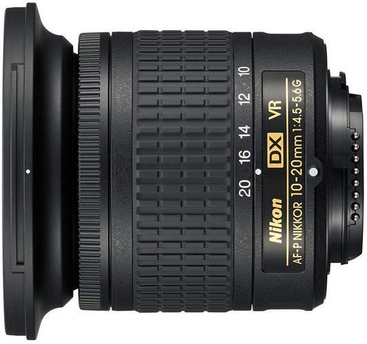 Nikon AF-P DX Nikkor 10-20mm f/4.5-5.6G VR best Nikon lenses