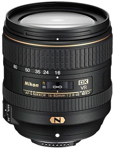 Nikon AF-S DX 16-80mm f/2.8-4E ED VR best Nikon lenses