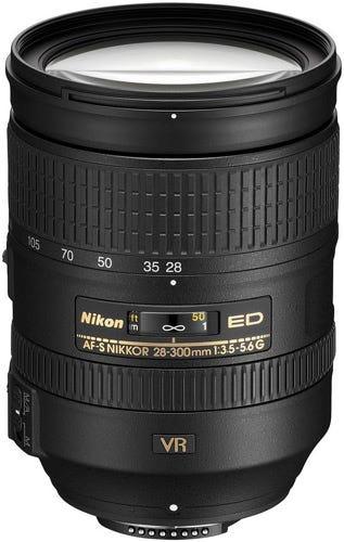 Nikon AF-S 28-300mm f/3.5-5.6G ED VR best Nikon lenses