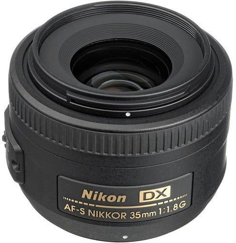 Nikon AF-S DX Nikkor 35mm f/1.8G best Nikon lenses