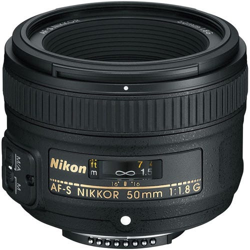 Nikon AF-S Nikkor 50mm f/1.8G best Nikon lenses
