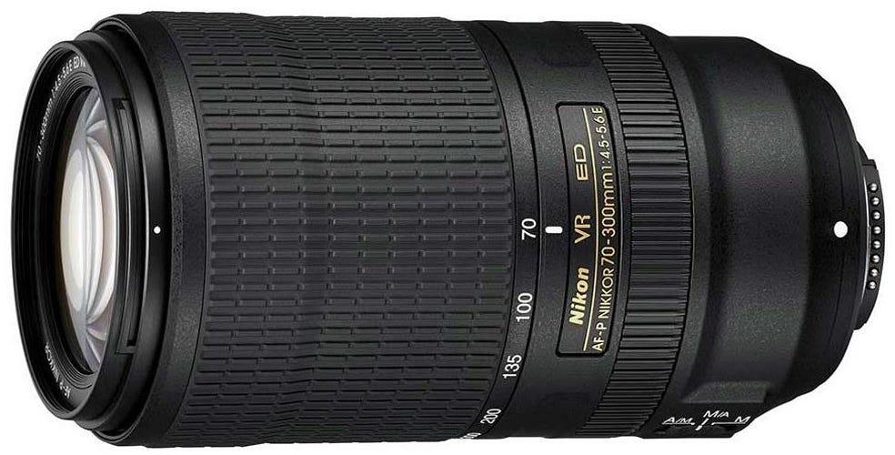 Nikon AF-P 70-300mm f/4.5-5.6E ED VR best Nikon lenses