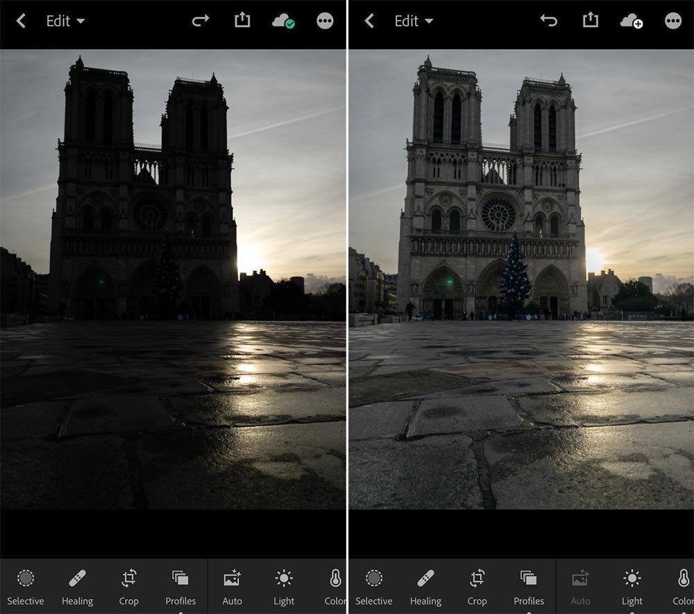 lightroom app iphone photography editing stephanie vermillion