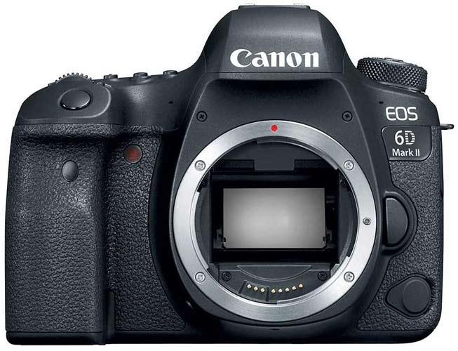 Canon EOS 6D Mark II best entry-level full-frame Canon camera