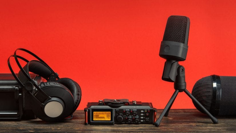 pro audio recording gear for video production