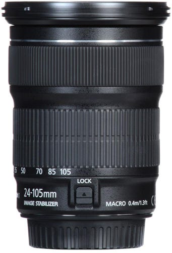 Canon EF 24-105mm f/3.5-5.6 IS STM best Canon lens for video