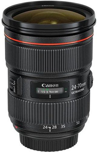 Canon EF 24-70mm f/2.8L II USM best Canon lens for video