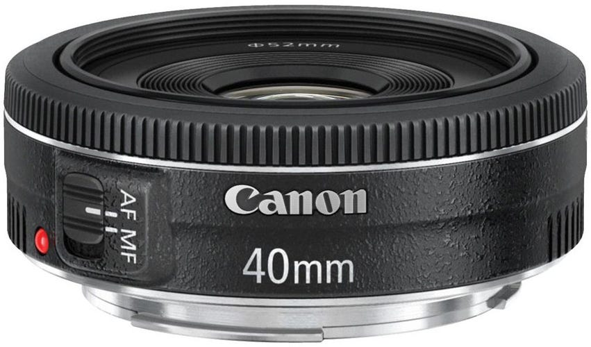 Canon EF 40mm f/2.8 STM best Canon lens for video