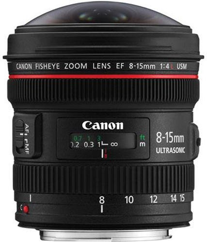 Canon EF 8-15mm f/4L USM best Canon lens for video