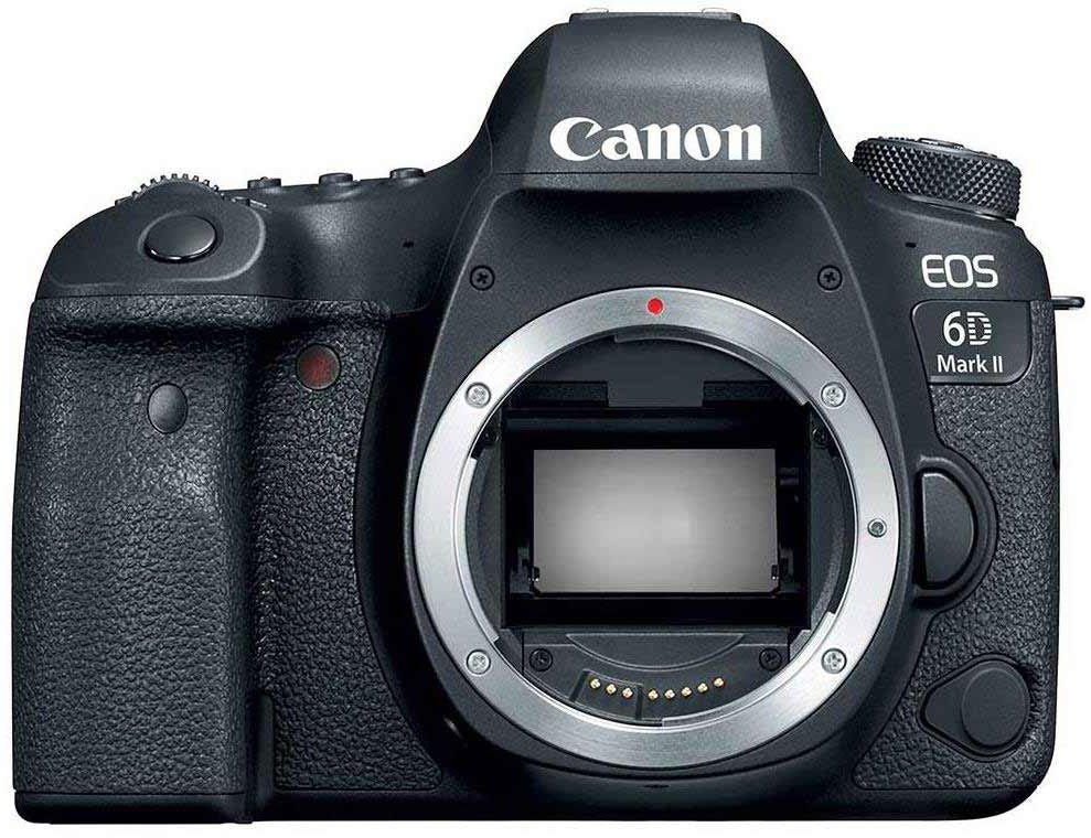 Canon EOS 6D Mark II best camera for food photography