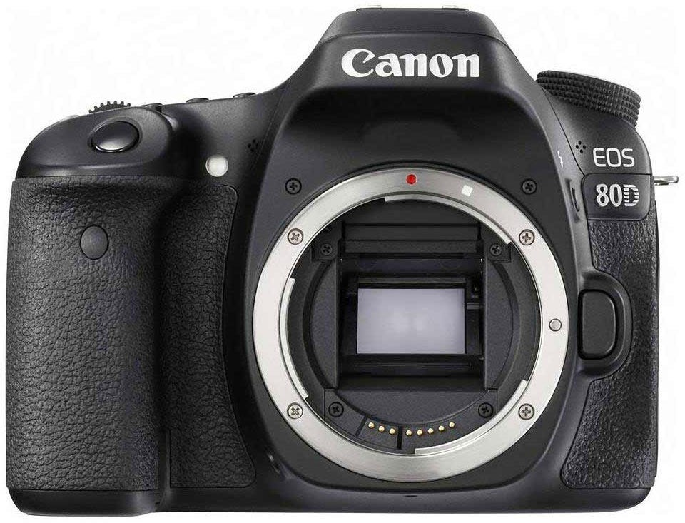 Canon EOS 80D best camera for food photography