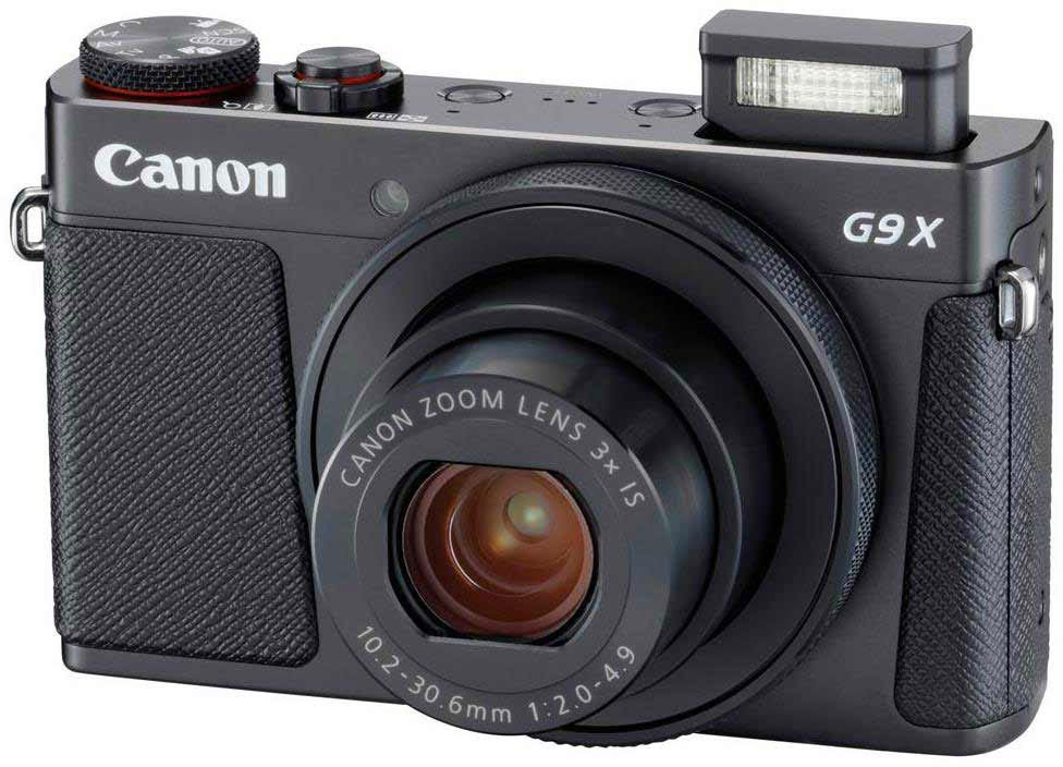 Canon PowerShot G9 X Mark II best camera for food photography
