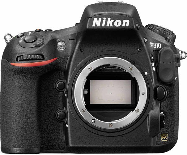 Nikon D810 best camera for food photography
