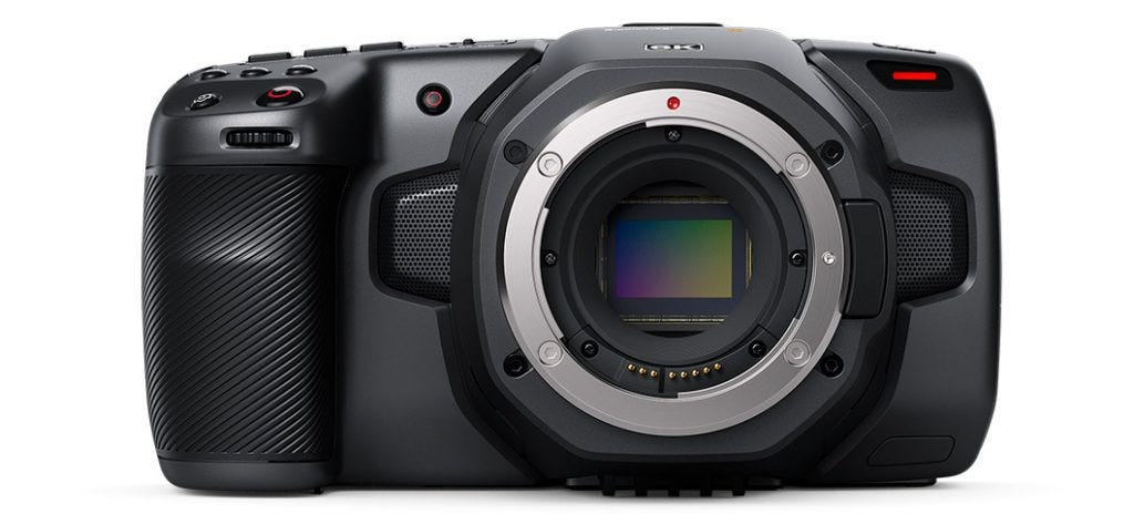 Blackmagic Design Announces New Pocket Cinema Camera 6K