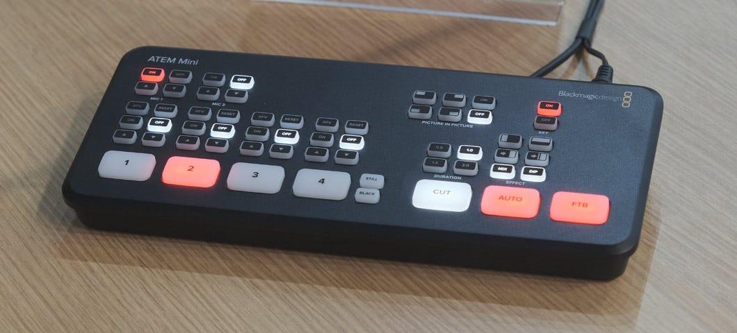 Ibc 2019 Blackmagic Design Announces The New Atem Mini Live Production Switcher