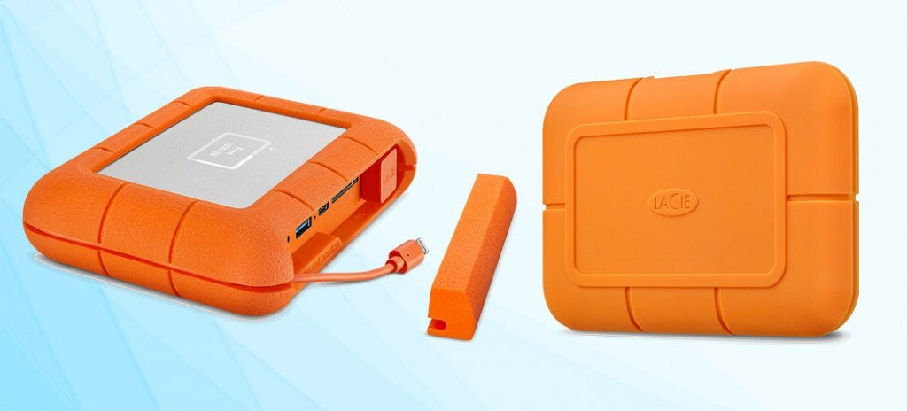 Lacie Debuts The Rugged Ssd For Editing