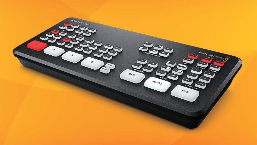 Blackmagic Design Just Launched The New Atem Mini Pro