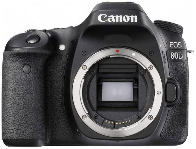 the Canon EOS 80D best DSLR for wedding photography
