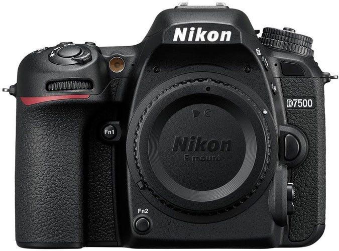 the Nikon D7500 best DSLR for wedding photography