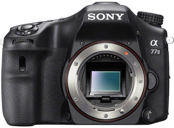 the Sony Alpha 77 Mark II best DSLR for wedding photography