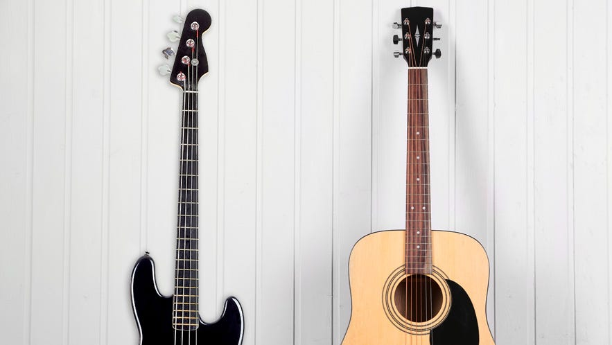 Bass Vs Guitar Differences Difficulties And Which Is Better For You