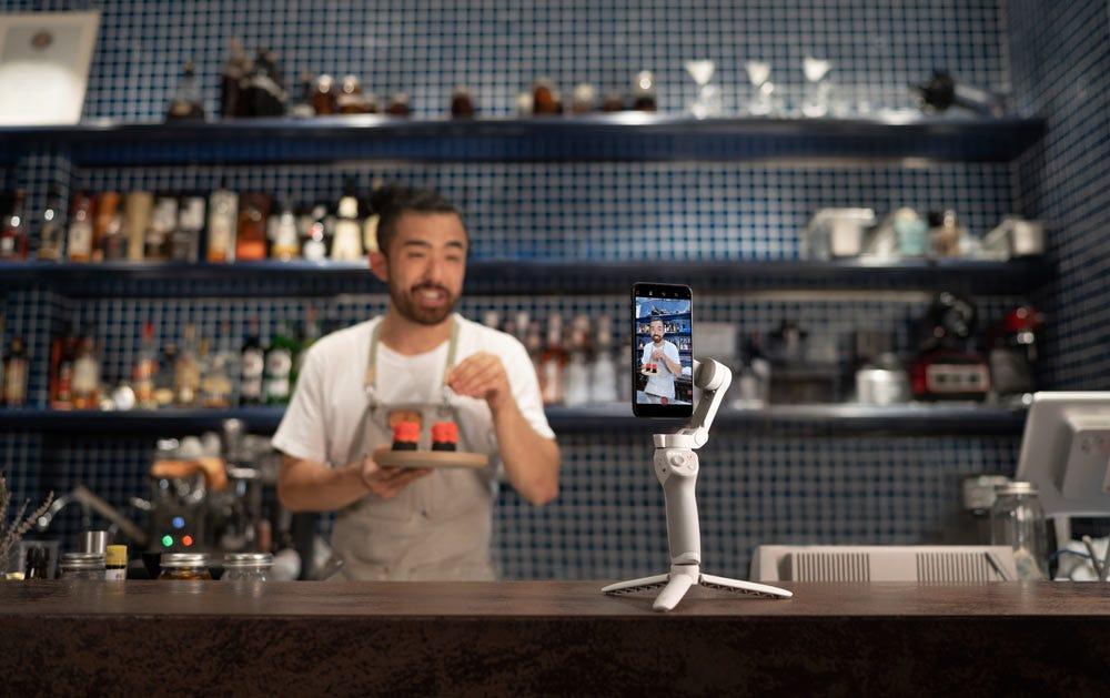 DJI Osmo Mobile 4 smartphone gimbal