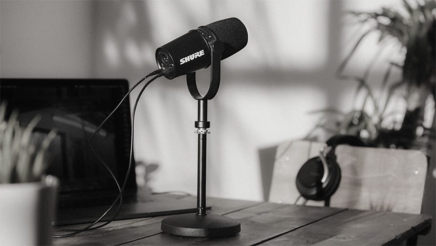 Shure Releases MV7 Podcast Mic With USB & XLR Outputs, Inspired by Popular  SM7B