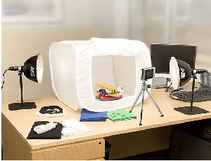 Light Up Your eBay Sales Use This Light Tent For Clear Product Photos & Light Up Your eBay Sales: Use This Light Tent For Clear Product ...