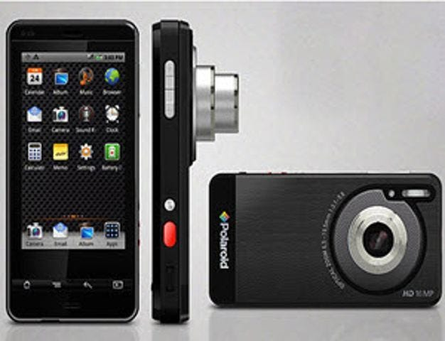 Polaroid announces world's first Android-powered compact