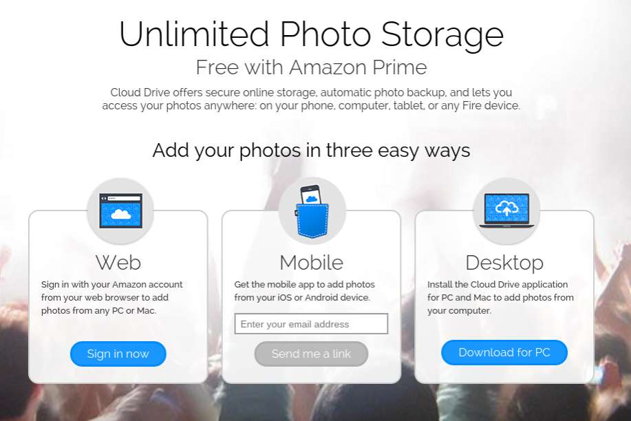 Amazon sweetens Prime Photo offering by letting Prime users