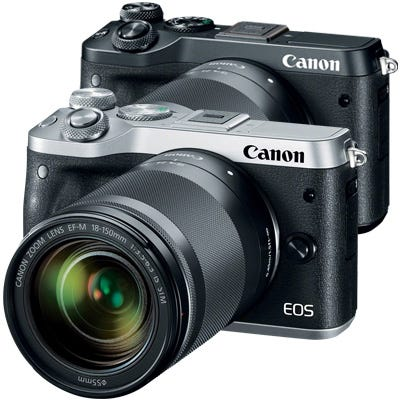 EOS M6 with 18-150mm f/3.5-6.3 IS STM Lens