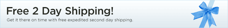 Free 2 Day Shipping!