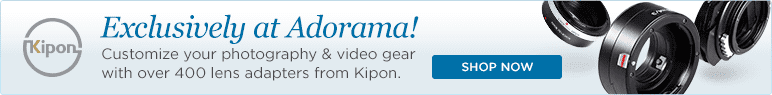 Customize your photography & video gear with over 400 lens adapters from Kipon.