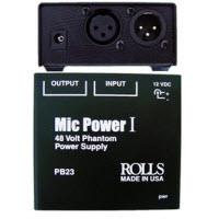 Microphone External Power & Controls