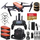Autel Robotics EVO Orange Quadcopter Drone + Adorama Bundle