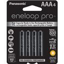 4-Pk. Panasonic BK-4HCCA4BA AAA Eneloop Rechargeable Batteries
