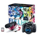 Canon EOS Rebel T6i 24MP FHD DSLR Camera + Printer + Paper