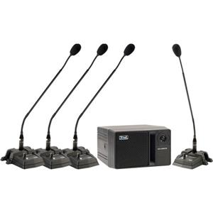Anchor Audio CouncilMAN Conference System Package CM-4