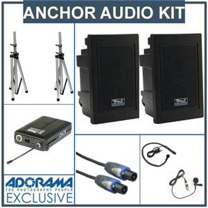Anchor Audio EXP-7500U2 Receiver, 2 Lapel/Collar Mic: Picture 1 regular