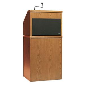 Anchor Audio LP-500 Seville 1 Piece Lectern System LP500W
