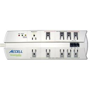 Accell GreenGenius Smart Surge Protector and Power Conditioner D080B-003K