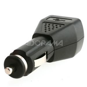 GGI International AC/DC USB Charger for MP3 Players, Bk: Picture 1 regular
