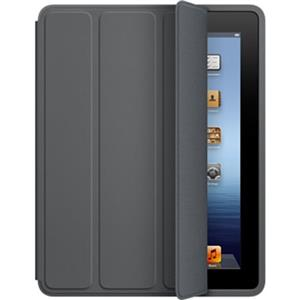 Apple iPad Smart Case - Polyurethane - Dark Gray - for iPad 2, iPad 3 & iPad 4: Picture 1 regular
