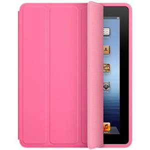 Apple iPad Smart Case - Polyurethane - Pink - for iPad 2, iPad 3 & iPad 4: Picture 1 regular