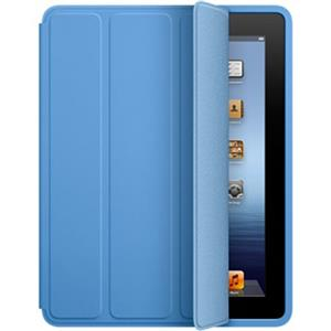 Apple iPad Smart Case - Polyurethane - Blue - for iPad 2, iPad 3 & iPad 4: Picture 1 regular