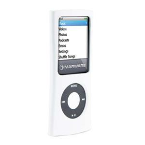 Marware Sport Grip Deluxe for iPod Nano 4G, White/Gray: Picture 1 regular