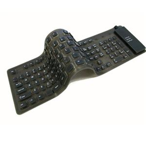 Adesso Flexible Full Sized USB Keyboard AKB-230